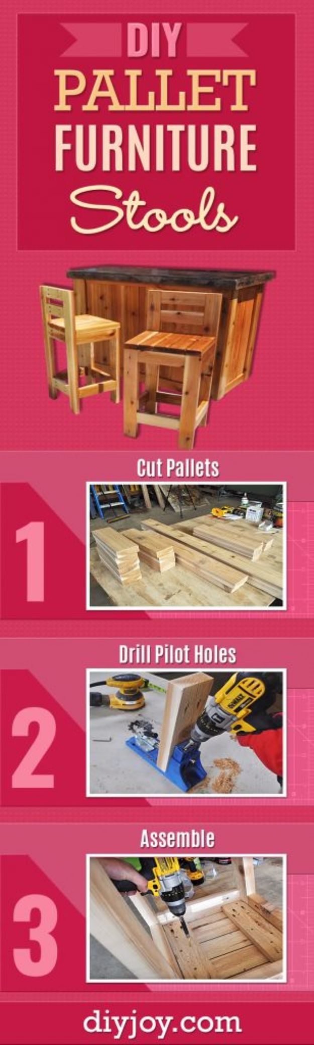 diy barstools - DIY Wooden Stools - Easy and Cheap Ideas for Seating and Creative Home Decor - Do It Yourself Bar Stools for Modern, Rustic, Farmhouse, Shabby Chic, Industrial and Simple Classic Decor #barstools #diy