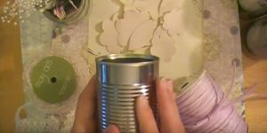 You Won't Believe What She Transforms Plain Old Tin Cans Into (Watch!)