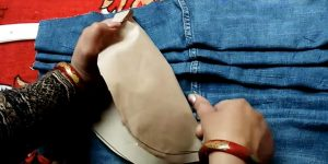 She Repurposes Some Old Jeans And What She Makes Is Awesome!
