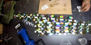 I Was Shocked When I Saw What He Made Out Of His Used CD's (Watch!)