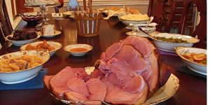 She Bakes A Delicious Ham For Easter Dinner But Doesn't Stop There…Watch What Else She Makes!