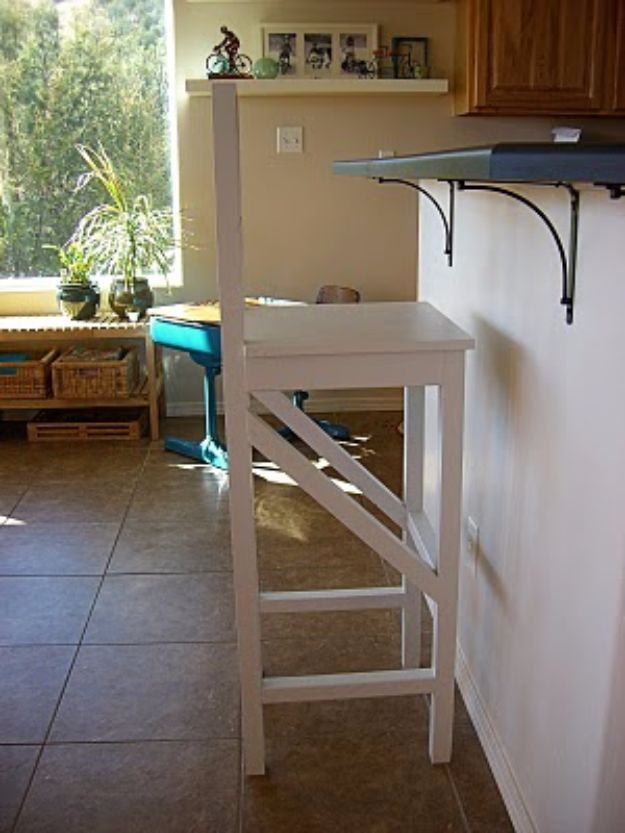 diy barstools - Extra Tall Bar Stools - Easy and Cheap Ideas for Seating and Creative Home Decor - Do It Yourself Bar Stools for Modern, Rustic, Farmhouse, Shabby Chic, Industrial and Simple Classic Decor #barstools #diy