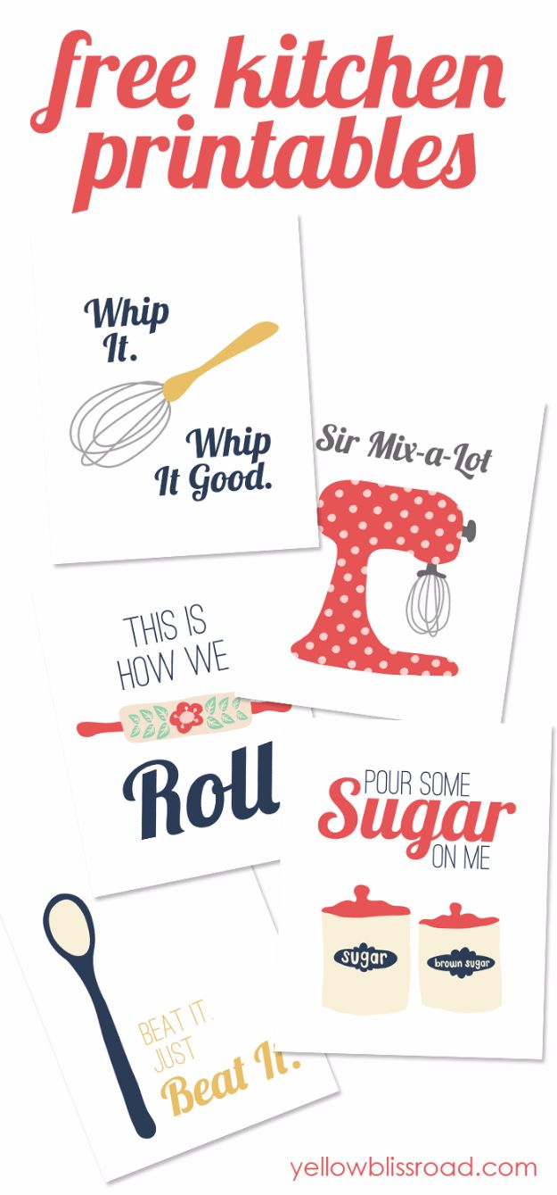 Best Free Printables For Your Walls