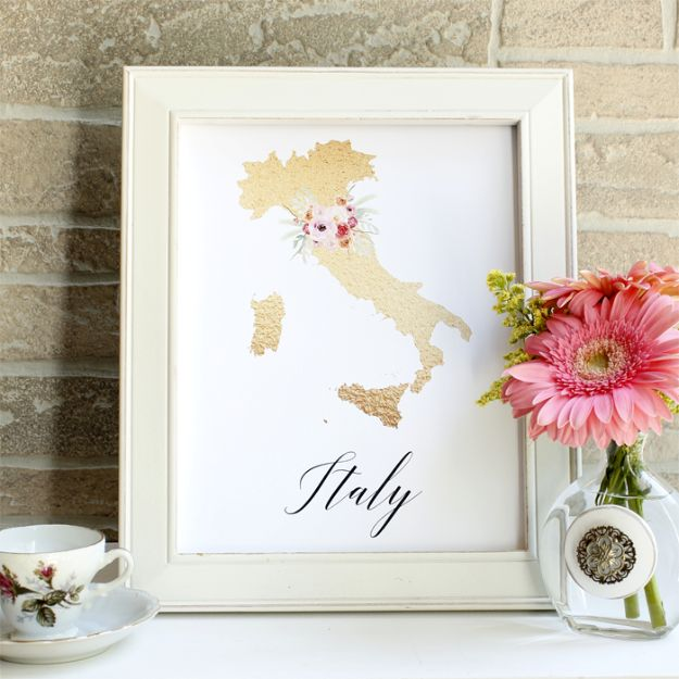Best Free Printables For Your Walls - Free Printable State Art - Free Prints for Wall Art and Picture to Print for Home and Bedroom Decor - Crafts to Make and Sell With Ideas for the Home, Organization #diy