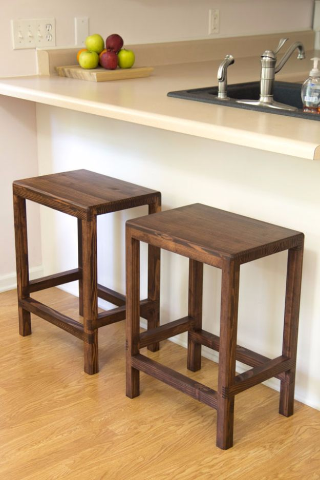 Astounding 31 Diy Barstools To Make For The Home Caraccident5 Cool Chair Designs And Ideas Caraccident5Info