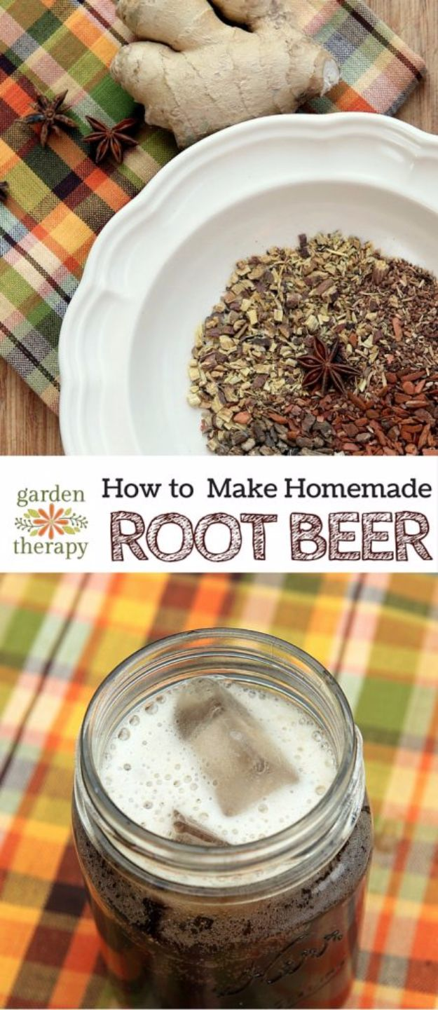 Best Homemade Beer Recipes - Homemade Root Beer - Easy Homebrew Drinks and Brewing Tutorials for Craft Beers Made at Home - IPA, Summer, Red, Lager and Ales - Instructions and Step by Step Tutorials for Making Beer at Home http://diyjoy.com/homemade-beer-recipes