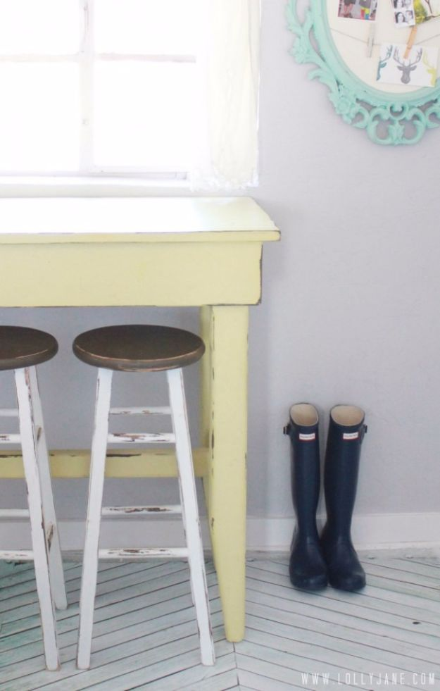 30 Ways To Create A Trendy Industrial Dining Room: 31 DIY Barstools You Need To Make For Your Home