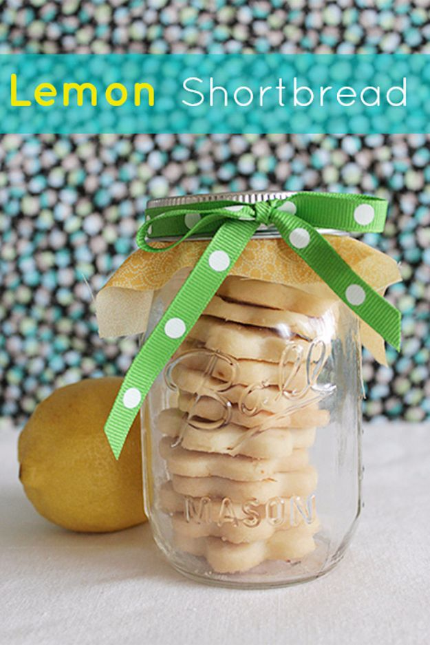 DIY Wedding Favors - Lemon Shortbread Cookies - Do It Yourself Ideas for Brides and Best Wedding Favor Ideas for Weddings - cheap wedding favor ideas #wedding #diy