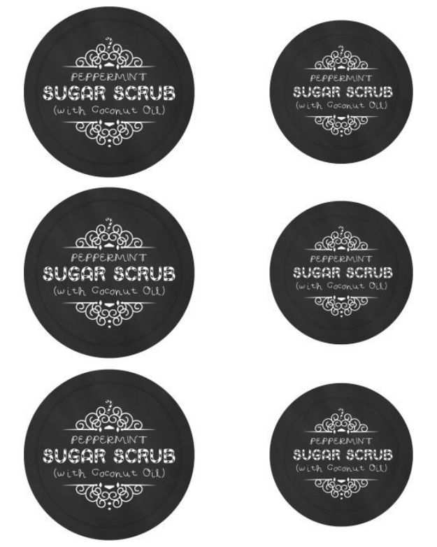 Free Printables for Mason Jars - Mason Jar Sugar Scrub Free Printables - Best Ideas for Tags and Printable Clip Art for Fun Mason Jar Gifts and Organization#masonjar #crafts #printables