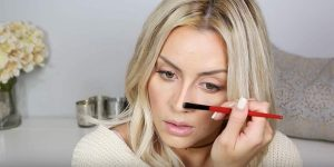 Her Nose Was A Tad Too Big So She Found The Perfect Contouring Solution That Made It Look Smaller (Watch!)