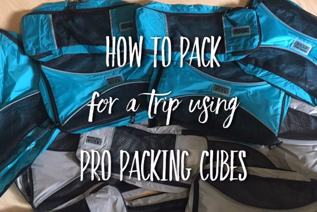 Packing Tips for Travel - Pack For A Trip With Packing Cubes - Easy Ideas for Packing a Suitcase To Maximize Space - Tricks and Hacks for Folding Clothes, Storing Toiletries, Shampoo and Makeup - Keep Clothing Wrinkle Free in Your Bag http://diyjoy.com/packing-tips-travel