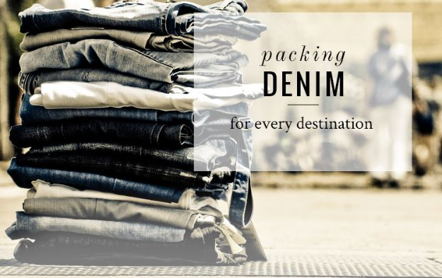 Packing Tips for Travel - Packing Jeans - Easy Ideas for Packing a Suitcase To Maximize Space - Tricks and Hacks for Folding Clothes, Storing Toiletries, Shampoo and Makeup - Keep Clothing Wrinkle Free in Your Bag http://diyjoy.com/packing-tips-travel