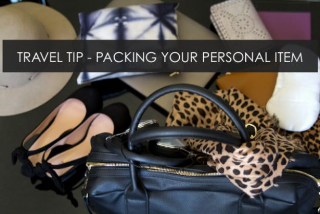 Packing Tips for Travel - Packing Personal Item - Easy Ideas for Packing a Suitcase To Maximize Space - Tricks and Hacks for Folding Clothes, Storing Toiletries, Shampoo and Makeup - Keep Clothing Wrinkle Free in Your Bag http://diyjoy.com/packing-tips-travel