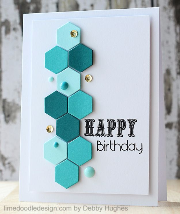 30 creative ideas for handmade birthday cards diy birthday cards patterns birthday card easy and cheap handmade birthday cards to make bookmarktalkfo Image collections