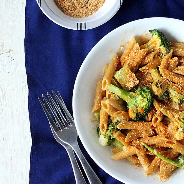DIY Recipes Made With Doritos - Penne And Broccoli In Doritos Cream Sauce - Best Dorito Recipes for Casserole, Taco Salad, Chicken Dinners, Beef Casseroles, Nachos, Easy Cool Ranch Meals and Ideas for Dips, Snacks and Kids Recipe Tutorials - Quick Lunch Ideas and Recipes for Parties