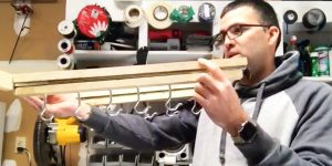 Watch How He Makes The Most Amazing Space Saver Ever!