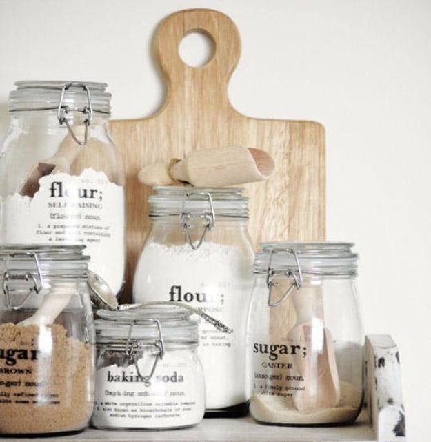 Free Printables for Mason Jars - Pretty Mason Jar Labels - Best Ideas for Tags and Printable Clip Art for Fun Mason Jar Gifts and Organization#masonjar #crafts #printables
