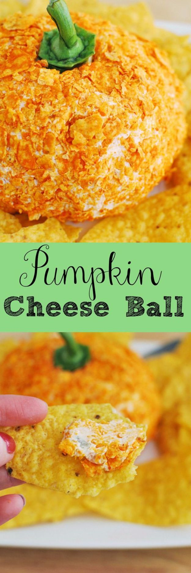 DIY Recipes Made With Doritos - Pumpkin Cheese Ball - Best Dorito Recipes for Casserole, Taco Salad, Chicken Dinners, Beef Casseroles, Nachos, Easy Cool Ranch Meals and Ideas for Dips, Snacks and Kids Recipe Tutorials - Quick Lunch Ideas and Recipes for Parties