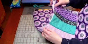 She Just Learned How To Quilt And She Made This Awesome Item From Scrap Fabrics (Watch!)