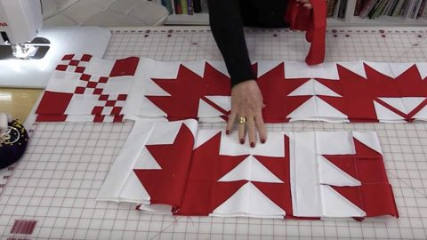 Bold Graphic Statement Quilt Tutorial   DIY Joy Projects and Crafts Ideas