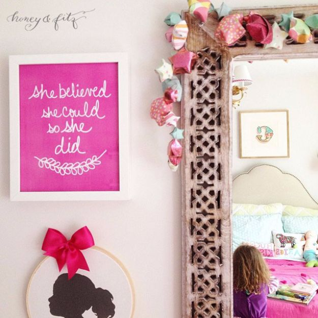 Best Free Printables For Your Walls - She Believed She Could SO She Did Free Printable - Free Prints for Wall Art and Picture to Print for Home and Bedroom Decor - Crafts to Make and Sell With Ideas for the Home, Organization #diy