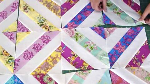"""""""Summer in The Park"""" Quilt Tutorial Uses Jelly Rolls 