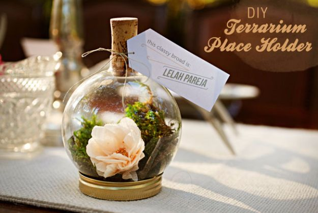 DIY Terrarium Ideas - Terrarium Placeholder - Cool Terrariums and Crafts With Mason Jars, Succulents, Wood, Geometric Designs and Reptile, Acquarium - Easy DIY Terrariums for Adults and Kids To Make at Home