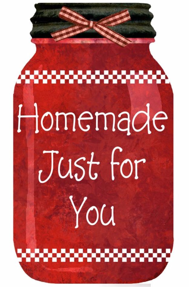 Free Printables for Mason Jars - Trio Of Free Printable Kitchen Jar Tags - Best Ideas for Tags and Printable Clip Art for Fun Mason Jar Gifts and Organization#masonjar #crafts #printables