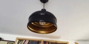 I Was Shocked When I Saw What He Made This Pendant Light Out Of And You Will Be Too!