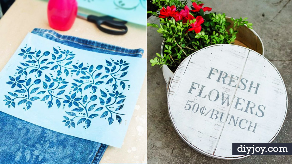 diy stencil ideas cool and easy stenciling tutorials for making