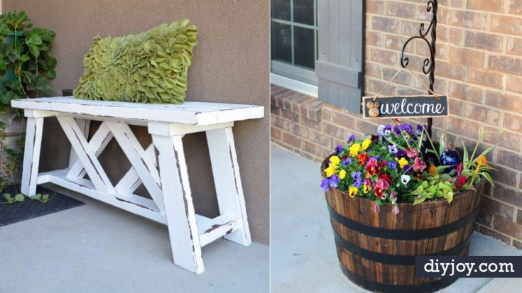 42 Brilliant Country Decor Ideas To Make For Your Porch