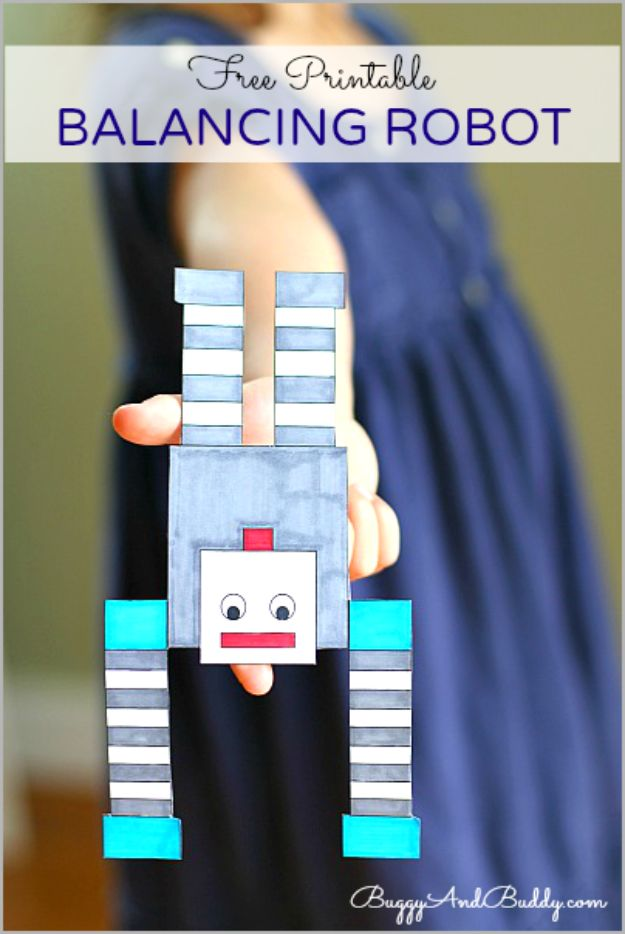 DIY Stem and Science Ideas for Kids and Teens - Balancing Robot - Fun and Easy Do It Yourself Projects and Crafts Using Math, Electronics, Engineering Concepts and Basic Building Skills - Creatve and Cool Project Tutorials For Kids To Make At Home This Summer - Boys, Girls and Teenagers Have Fun Making Room Decor, Experiments and Playtime STEM Fun #stem #diyideas #stemideas #kidscrafts