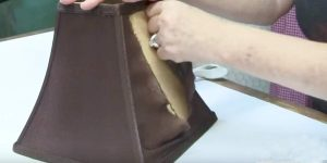 You Won't Believe What She Does To This Old Lamp Shade (Watch!)