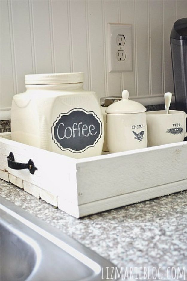 Best Country Decor Ideas - DIY Rustic Wood Tray - Rustic Farmhouse Decor Tutorials and Easy Vintage Shabby Chic Home Decor for Kitchen, Living Room and Bathroom - Creative Country Crafts, Rustic Wall Art and Accessories to Make and Sell http://diyjoy.com/country-decor-ideas