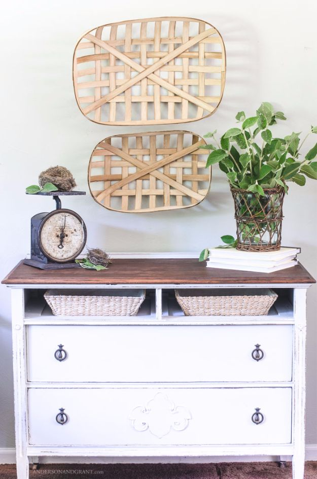 Best Country Crafts For The Home - DIY Tobacco Basket - Cool and Easy DIY Craft Projects for Home Decor, Dollar Store Gifts, Furniture and Kitchen Accessories - Creative Wall Art Ideas, Rustic and Farmhouse Looks, Shabby Chic and Vintage Decor To Make and Sell http://diyjoy.com/country-crafts-for-the-home