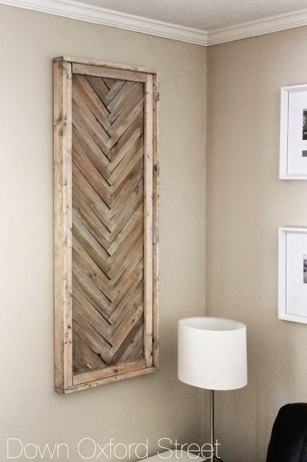 Best Country Decor Ideas - DIY Wood Shim Wall Art - Rustic Farmhouse Decor Tutorials and Easy Vintage Shabby Chic Home Decor for Kitchen, Living Room and Bathroom - Creative Country Crafts, Rustic Wall Art and Accessories to Make and Sell http://diyjoy.com/country-decor-ideas