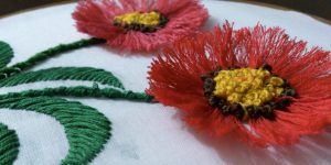 Embroidered Clothing Is The Rage Now And She Shows Us How She Does These Fabulous Poppies!