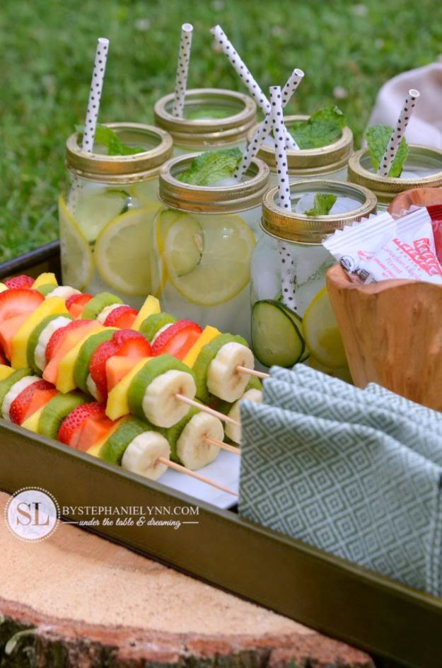 DIY Hacks for Summer - Healthy Summer Snack - Easy Projects to Try This Summer To Get Organized, Spend Time Outdoors, Play With The Kids, Stay Cool In The Heat - Tips and Tricks to Make Summertime Awesome - Crafts and Home Decor by DIY JOY