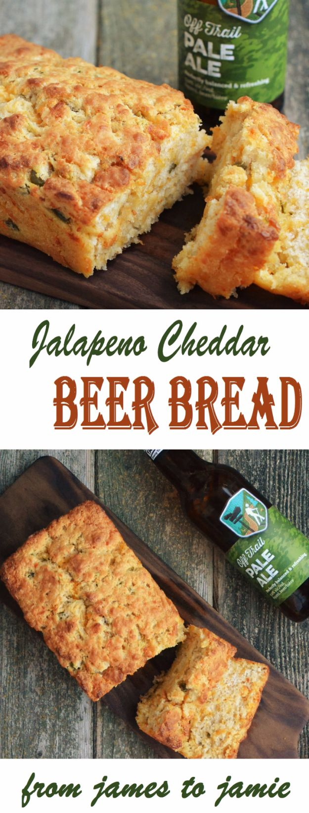 Best Recipes Made With Beer - Jalapeno Cheddar Beer Bread - Easy Dinner, Lunch and Snack Recipe Ideas Made With Beer - Food for the Slow Cooker and Crockpot, Meat and Chicken Dishes, Appetizers, Homemade Pretzels, Summer BBQ Sauces and PArty Food Ideas