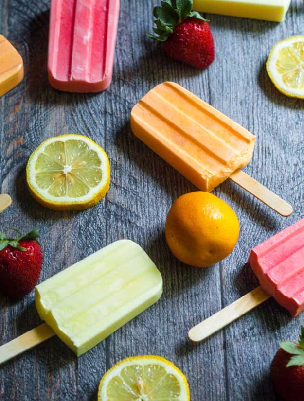 Best Recipe Ideas for Summer - Low Carb Jello Pops - Cool Salads, Easy Side Dishes, Recipes for Summer Foods and Dinner to Beat the Heat - Light and Healthy Ideas for Hot Summer Nights, Pool Parties and Picnics http://diyjoy.com/best-recipes-summer