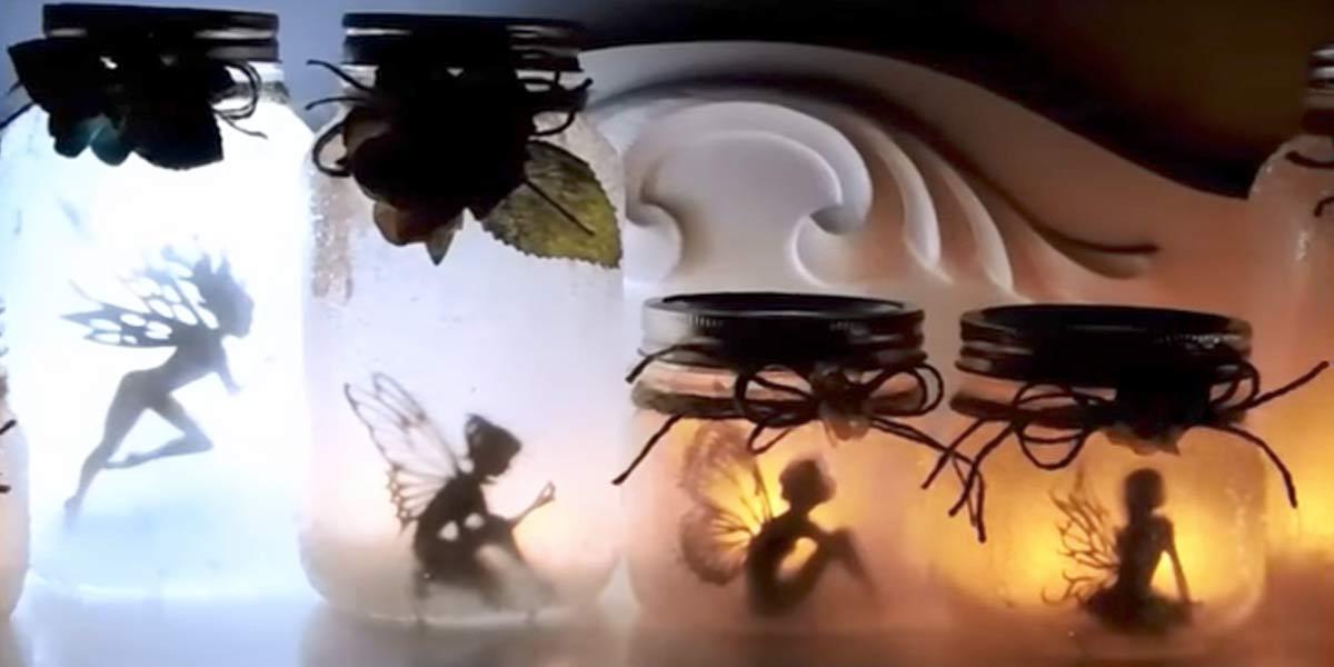 Mason Jar Night Light For Boys