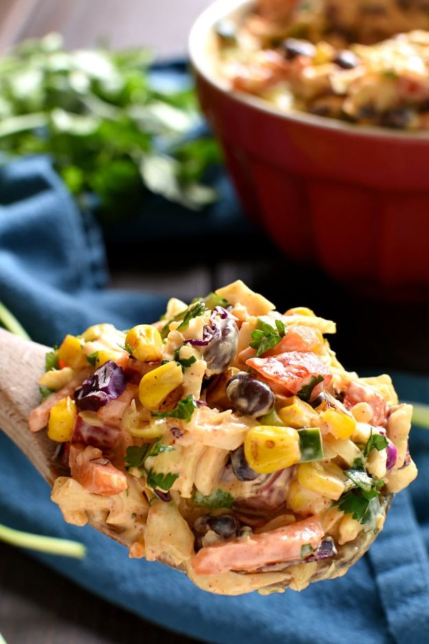 Best Recipe Ideas for Summer - Mexican Coleslaw - Cool Salads, Easy Side Dishes, Recipes for Summer Foods and Dinner to Beat the Heat - Light and Healthy Ideas for Hot Summer Nights, Pool Parties and Picnics http://diyjoy.com/best-recipes-summer
