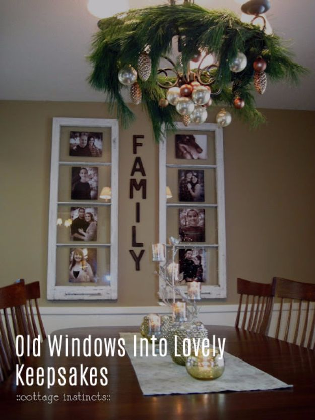 Old Windows Into Lovely KeepsakDIY Ideas With Old Windows - Old Windows Into Lovely Keepsakes - Rustic Farmhouse Decor Tutorials and Projects Made With An Old Window - Easy Vintage Shelving, Coffee Table, Towel Hook, Wall Art, Picture Frames and Home Decor for Kitchen, Living Room and Bathroom - Creative Country Crafts, Seating, Furniture, Patio Decor and Rustic Wall Art and Accessories to Make and Sell http://diyjoy.com/diy-projects-old-windowses