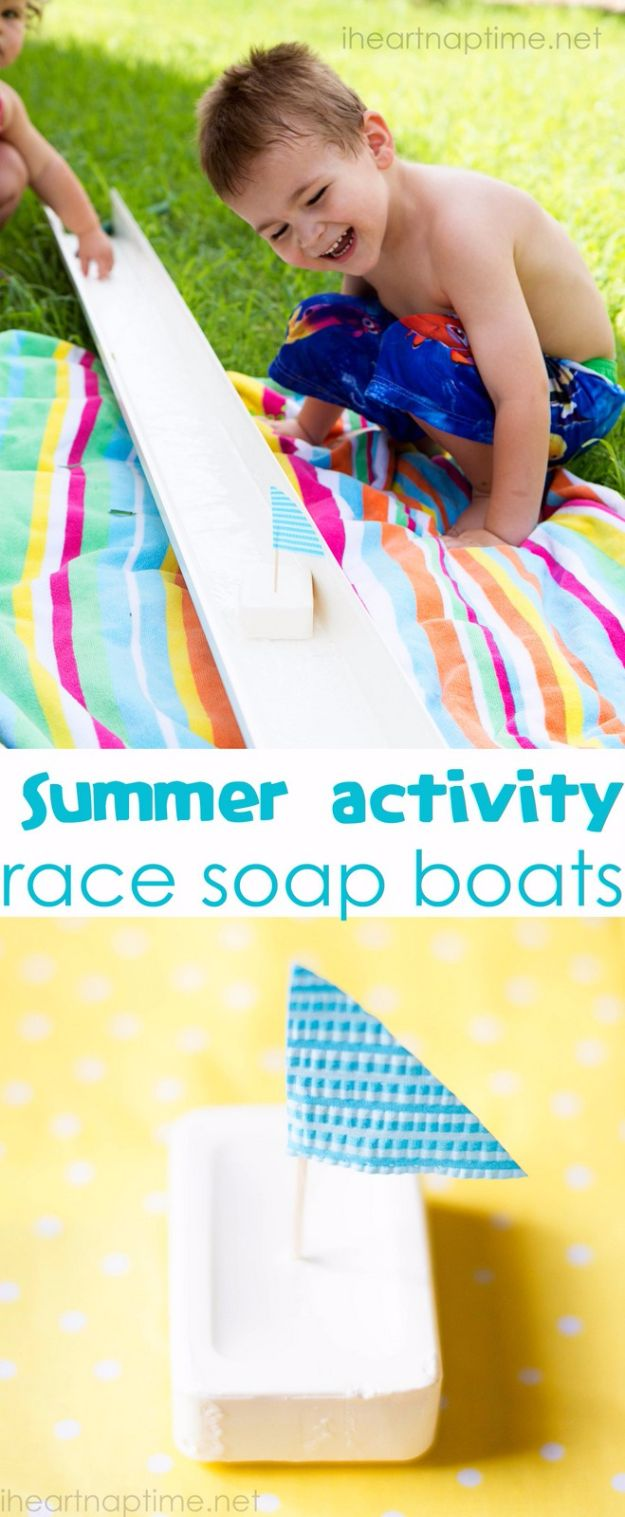 Race Soap Boats