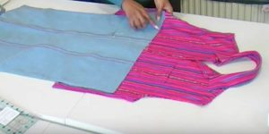 She Cleverly Recycles A Pair Of Jeans And A Shirt To Make Something Really Useful (Watch!)
