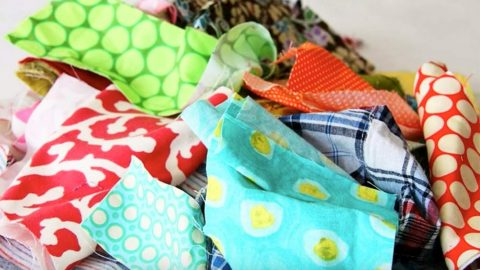 Watch These Brilliant Ideas For Using Those Scrap Fabrics You've Been Toting Around! | DIY Joy Projects and Crafts Ideas