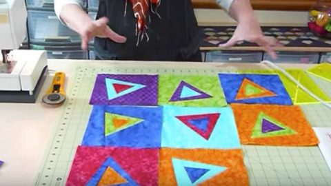 "Fun And Colorful ""Wonky Quilts"" Are Going To Be Your Favorite After You See This (Watch!) 