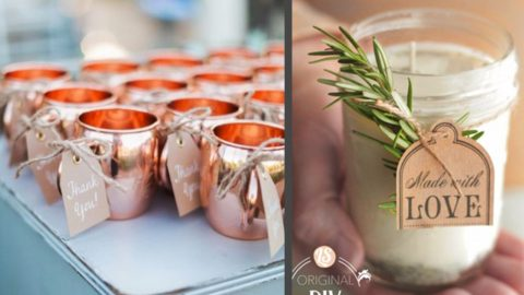 31 Brilliantly Creative Wedding Favors You Can Make For Your Big Day | DIY Joy Projects and Crafts Ideas