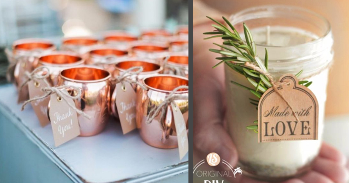 Creative Diy Wedding Gifts: 31 Brilliantly Creative Wedding Favors You Can Make For