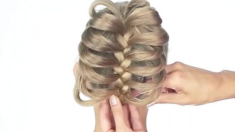 12 Incredible Hairstyles You Can Do In Less Than A Minute. Watch! | DIY Joy Projects and Crafts Ideas